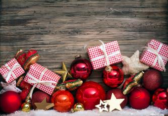 Картинка праздничные -+разное+ новый+год звездочки шарики коробки