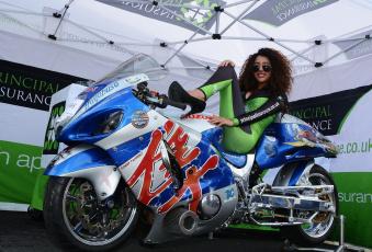 обоя мотоциклы, мото с девушкой, девица, байк