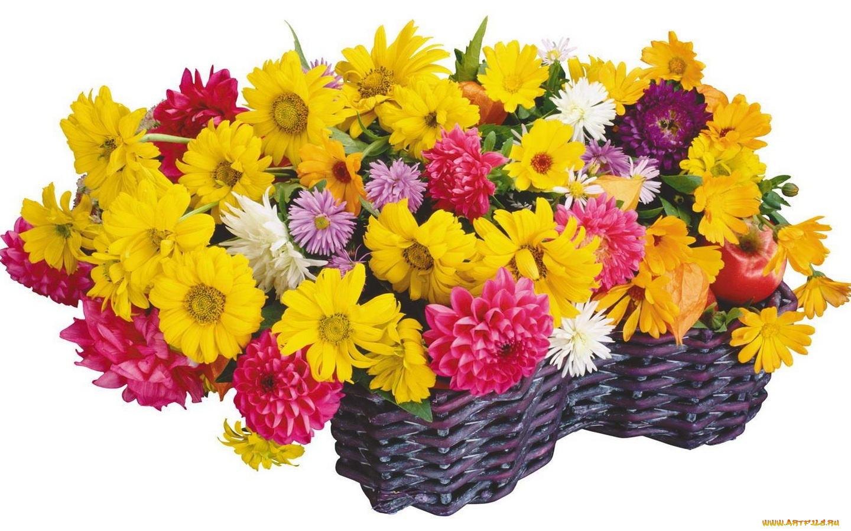 Букет цветов женщине с днем рождения