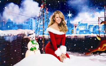 Картинка музыка mariah carey снеговик улыбка
