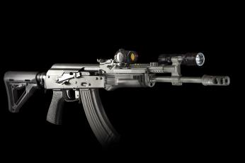 Картинка оружие винтовки+с+прицеломприцелы фон штурмовая ak винтовка автомат фонарик