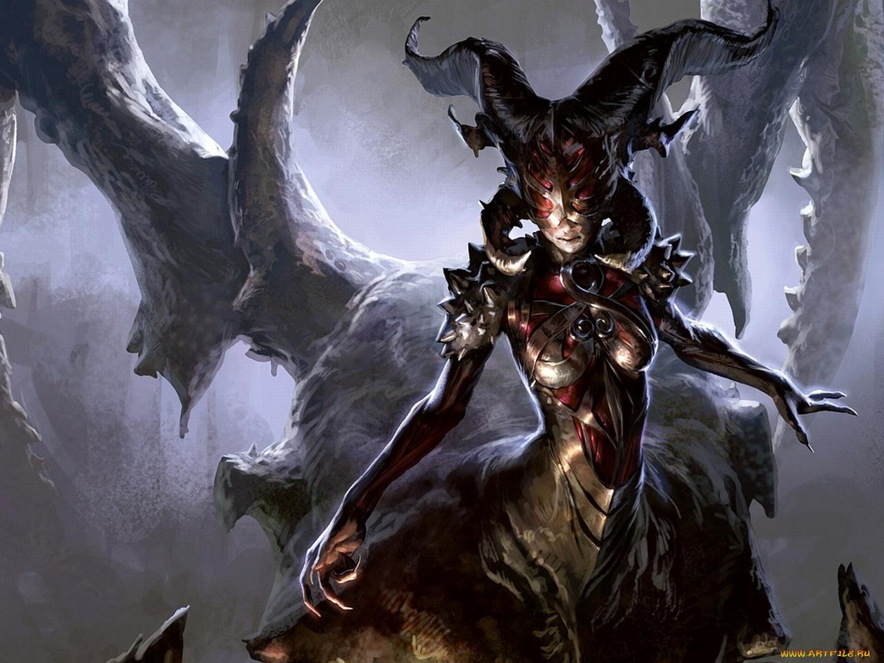 Дьяволы монстры картинки