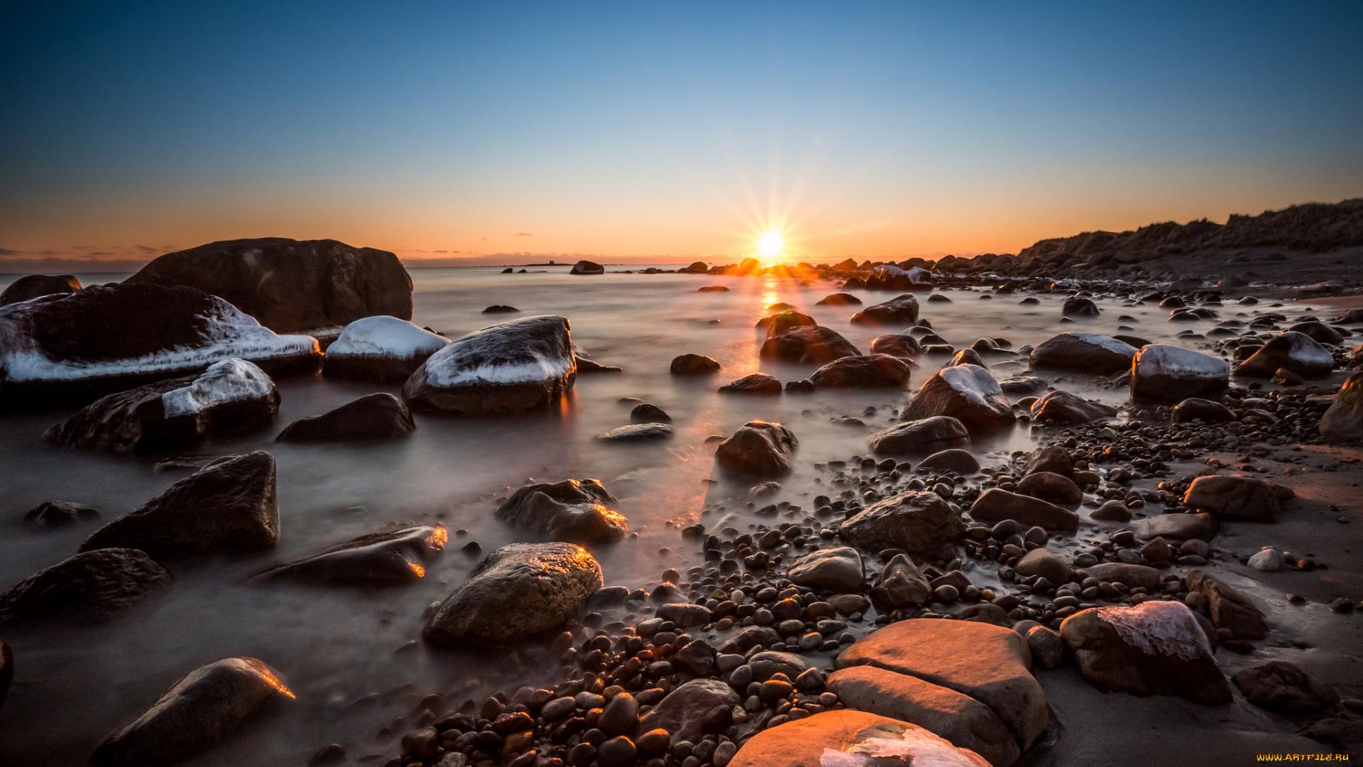 Камни океан горизонт онлайн