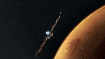 Картинка космос космические+корабли +космические+станции полет космический корабль вселенная галактика