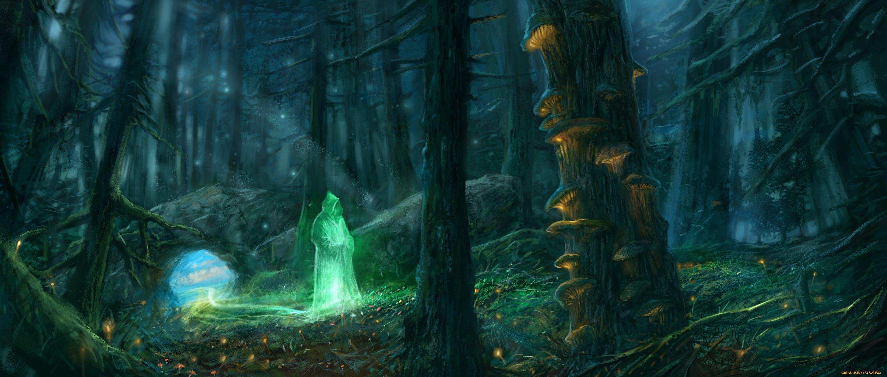 Маг, призрак, фэнтези бесплатно