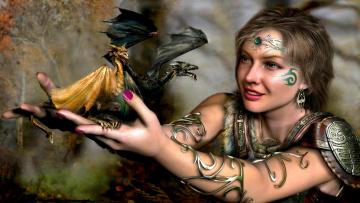 3d-grafika-fantasy-fantaziya-drakonchiki