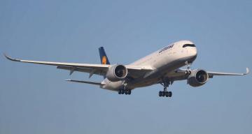 обоя airbus a350-900, авиация, пассажирские самолёты, авиалайнер
