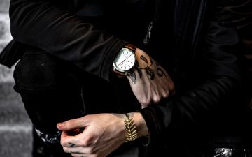 обоя разное, руки, часы, тату, браслет