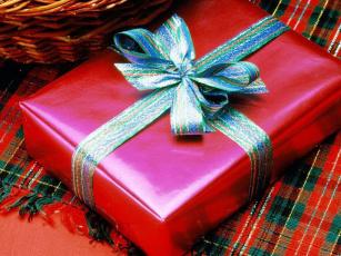 обоя праздничные, подарки, коробочки