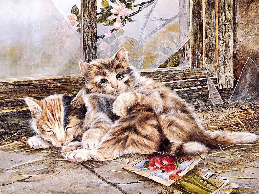 Картинки с животными красивые и смешные нарисованные