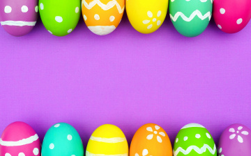 обоя праздничные, пасха, eggs, spring, happy, easter, colorful, background