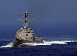 Картинка uss kidd корабли крейсеры линкоры эсминцы эсминец море