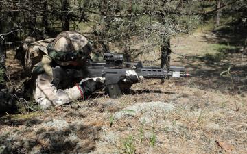 Картинка оружие армия спецназ latvian army солдат