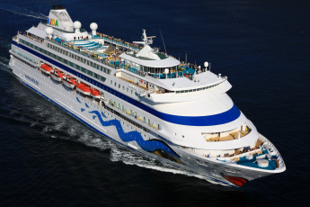 Картинка aida+cara корабли лайнеры лайнер круизный