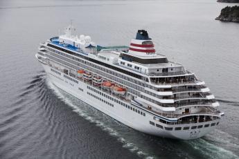 Картинка asuka+ii корабли лайнеры лайнер круизный
