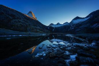 Картинка норвегия природа реки озера камни водоем