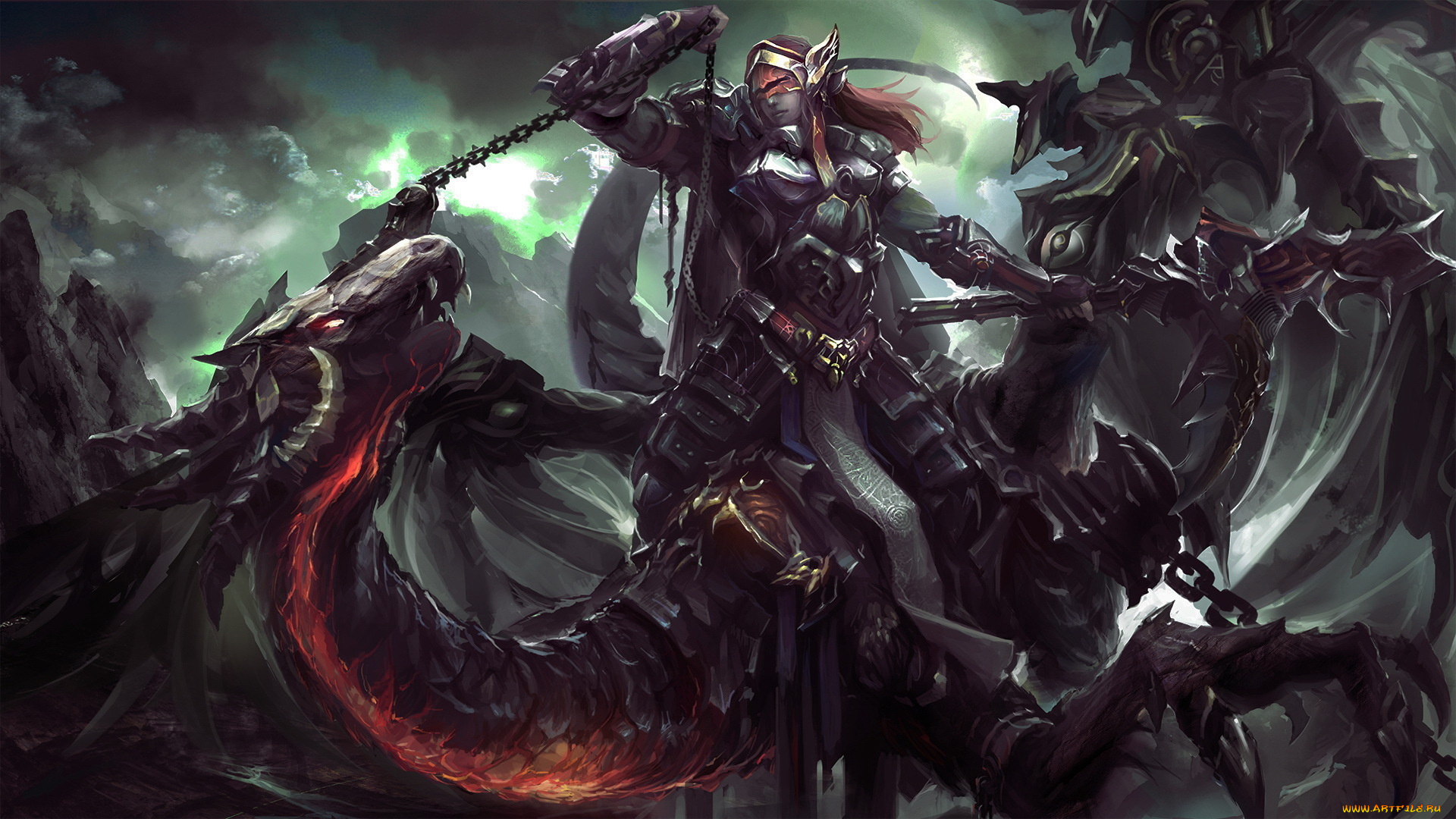 Рыцарь с драконом бесплатно