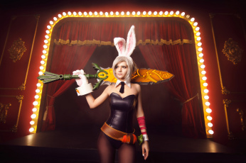 Картинка league+of+legends девушки -unsort+ креатив exile battle bunny skin riven league of legends