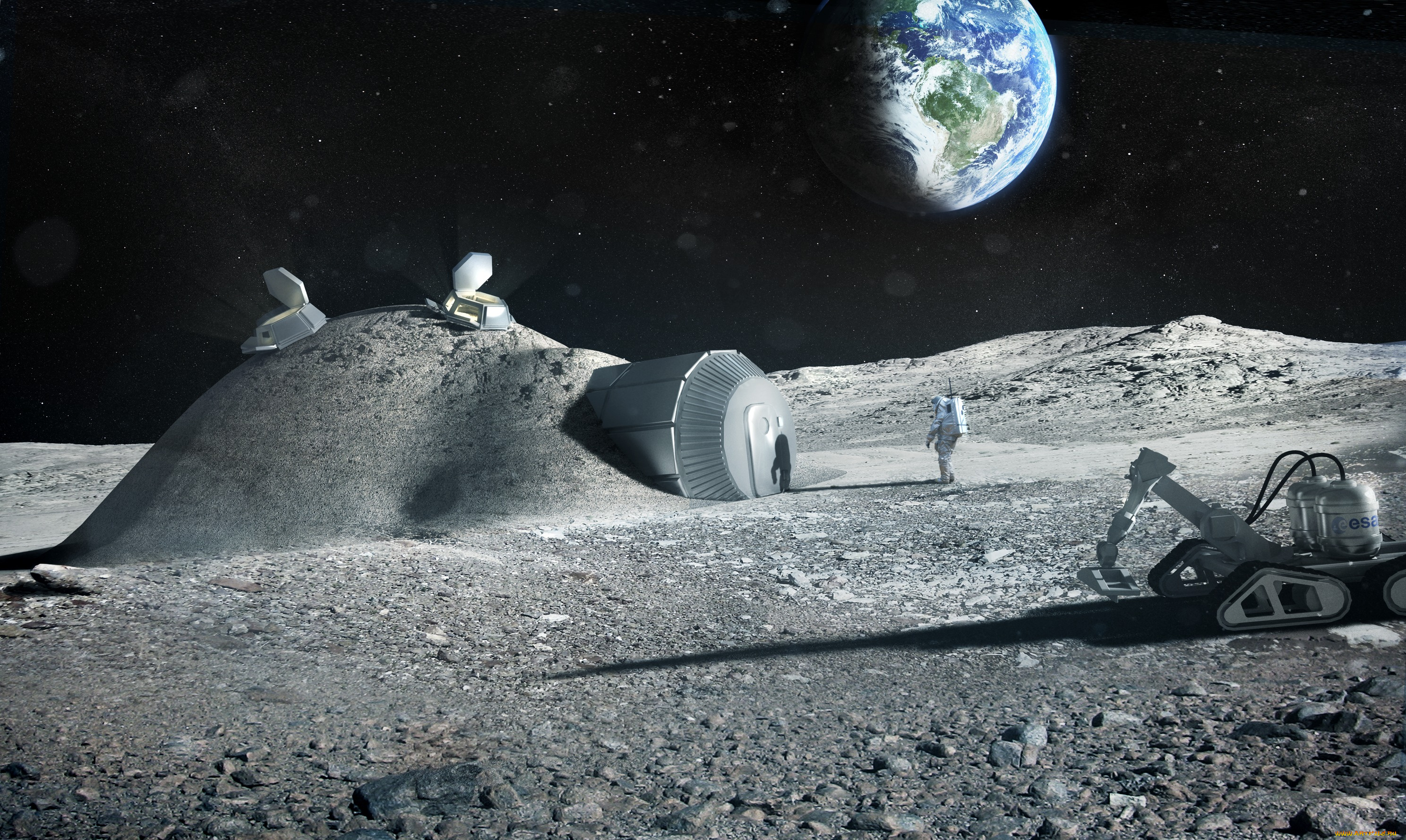 china space program to the moon - HD 2976×1778