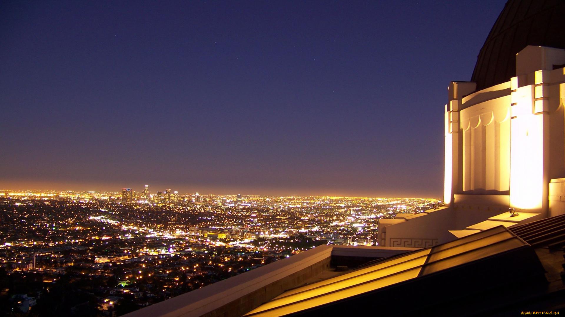 Картинки город ночь крыши