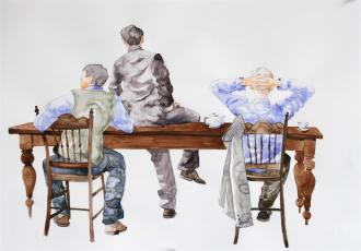Картинка рисованные люди