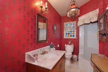 Картинка интерьер ванная+и+туалетная+комнаты дизайн стиль ванная
