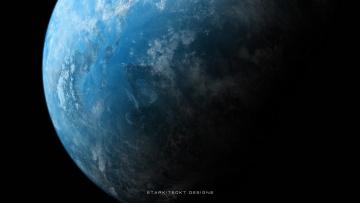 обоя космос, земля, планета, вселенная