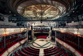 обоя интерьер, театральные,  концертные и кинозалы, театр