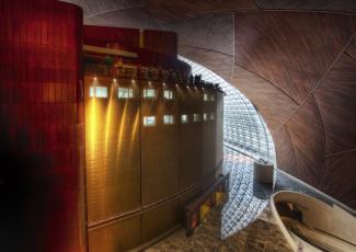 Картинка интерьер холлы лестницы корридоры стена китай пекин