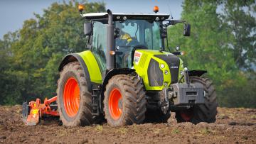 Картинка техника тракторы claas