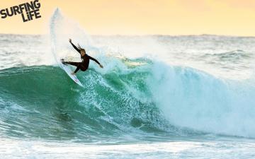Картинка спорт серфинг океан волна