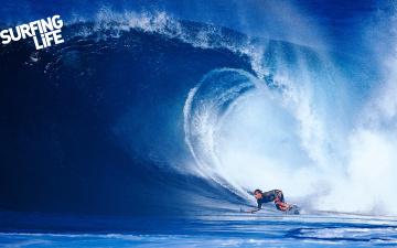 Картинка спорт серфинг волна океан