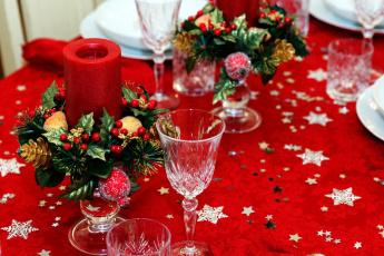 розы, желтые, сервировка, фужеры, свечи бесплатно