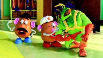 обоя мультфильмы, toy story 3, персонажи