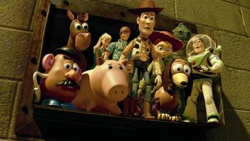 обоя toy story 3, мультфильмы, персонажи