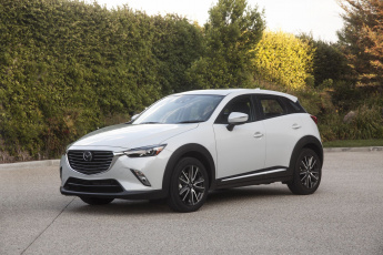 обоя mazda cx-3 review subcompact crossover 2018, автомобили, mazda, subcompact, review, crossover, 2018, белый, cx-3