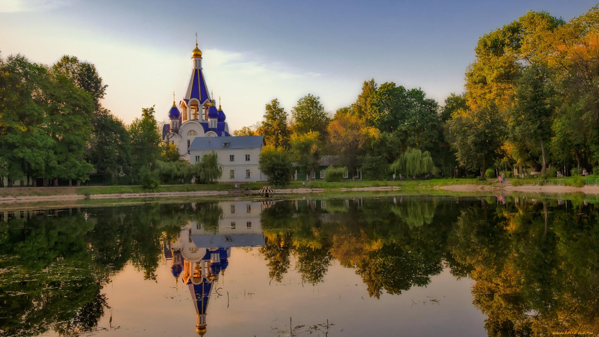 обои на рабочий стол православные храмы и монастыри лето № 217088 без смс