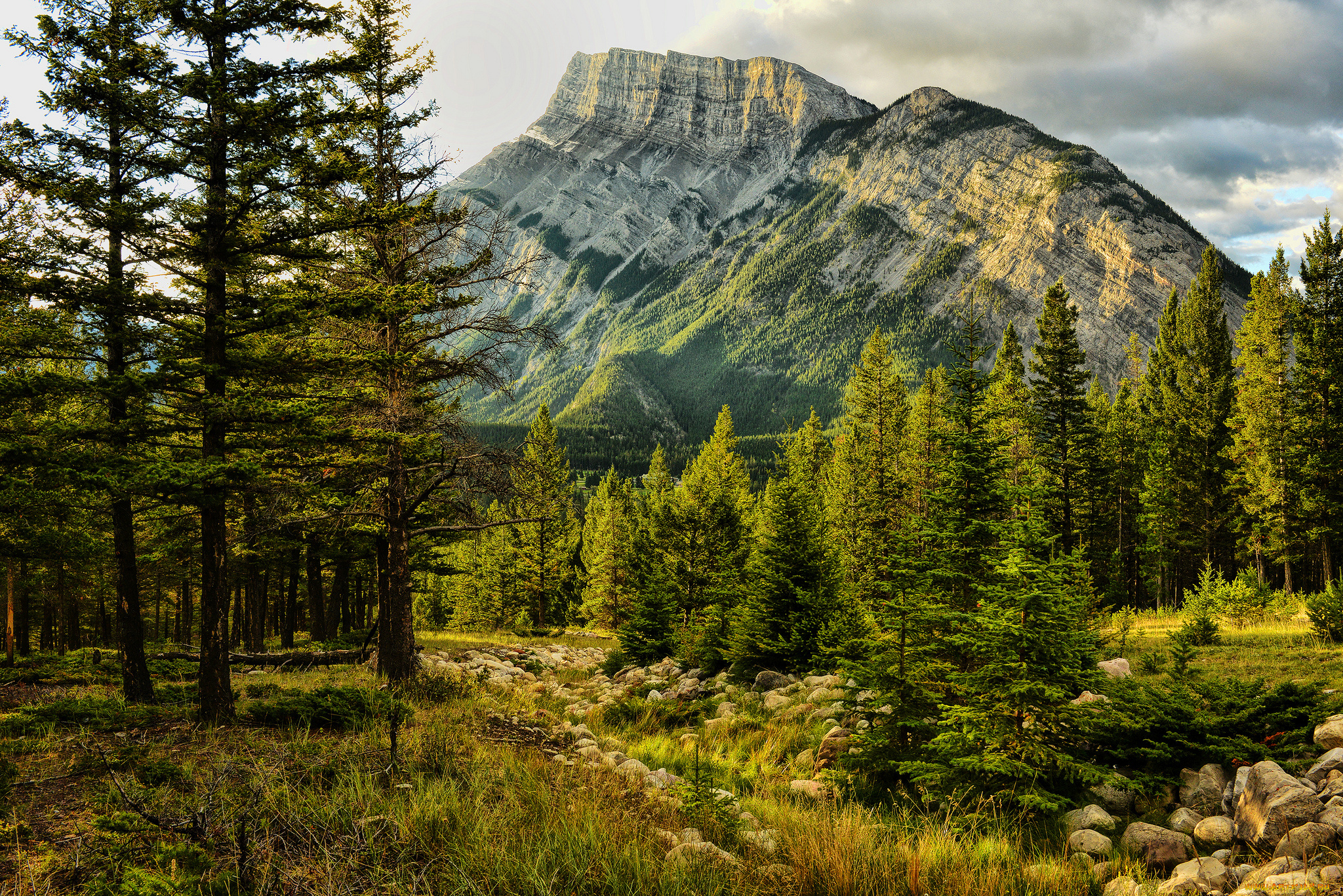 Mount Rundle, Banff National Park, Alberta, Canada загрузить