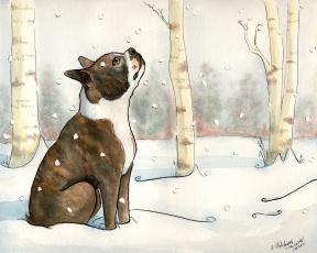 Картинка рисованные животные собаки собака