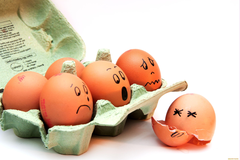 Смешные картинки к пасхе про яйца