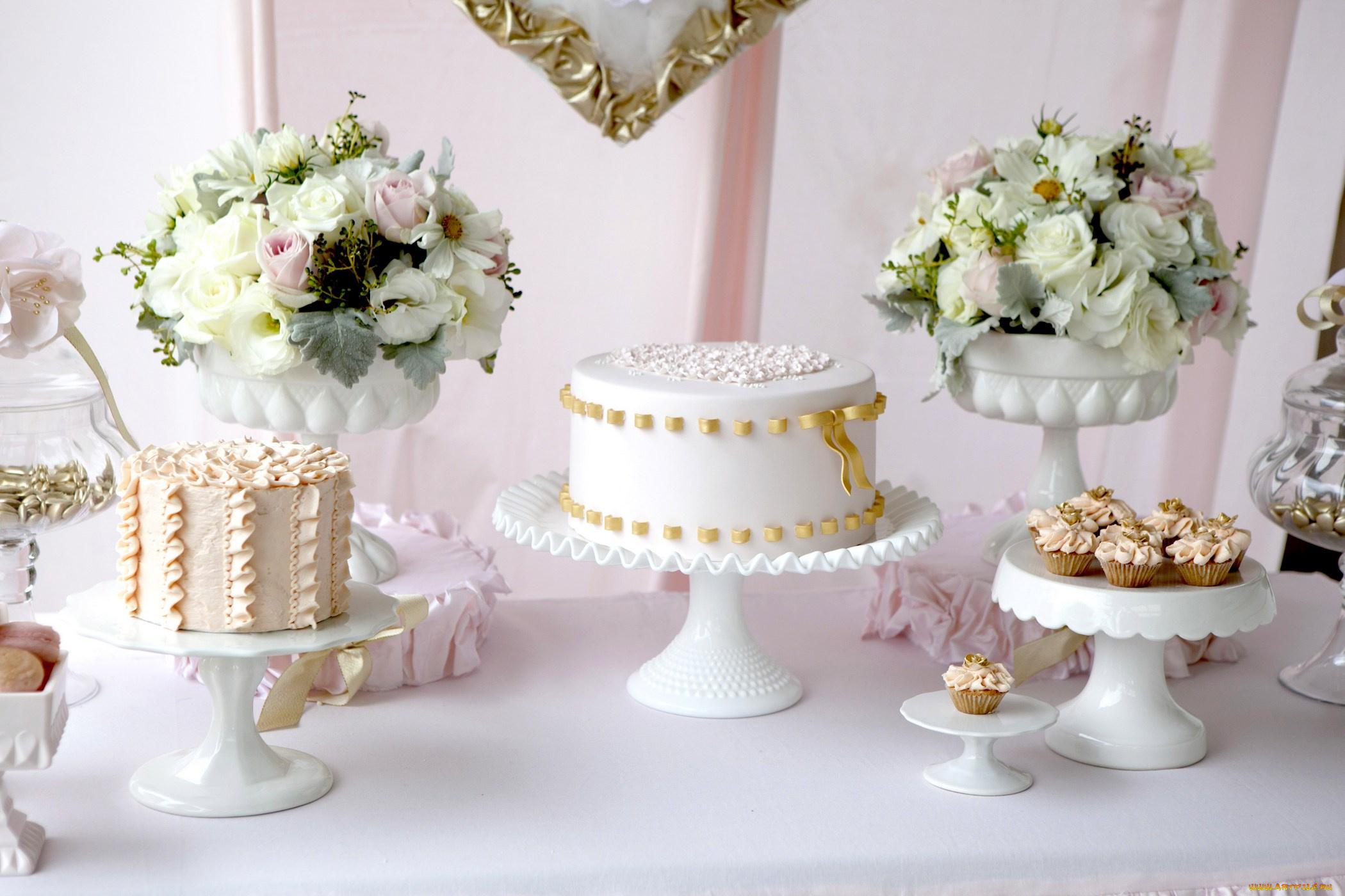 Свадебный торт  № 1408178 загрузить