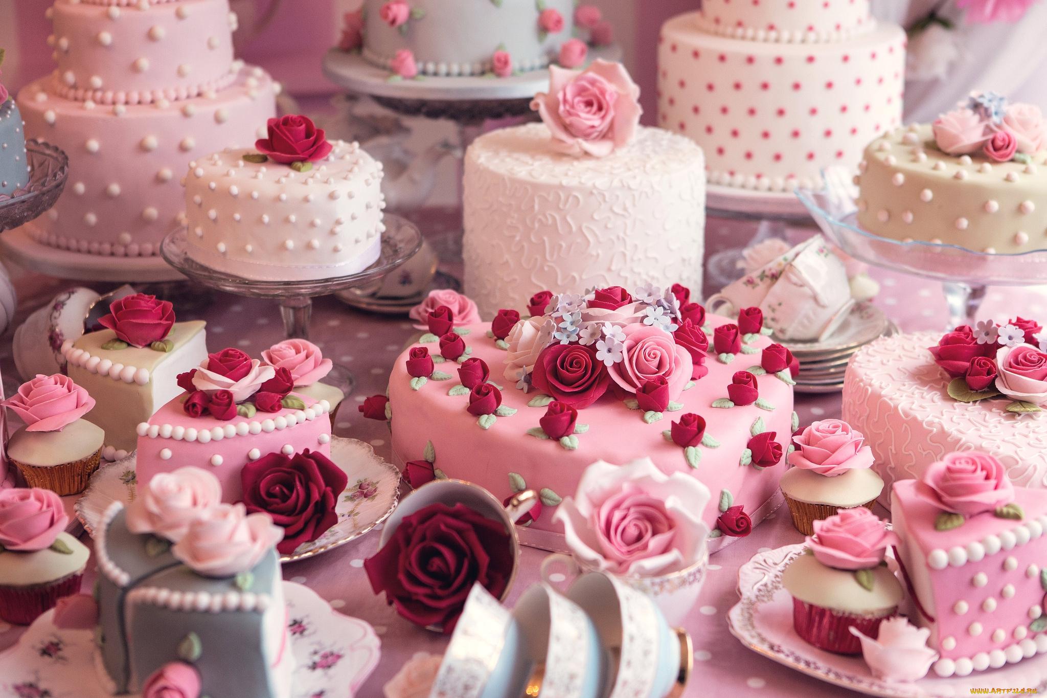 Свадебный торт  № 1408158 без смс