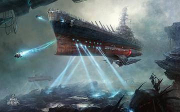 Картинка видео+игры world+of+warships action онлайн world of warships симулятор