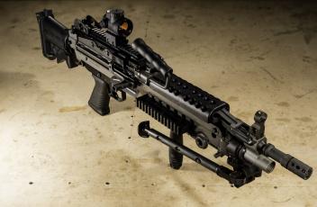 обоя оружие, пулемёты, пулемёт, fn, minini, m249