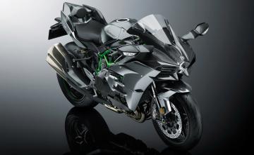 обоя мотоциклы, kawasaki, ninja, h2