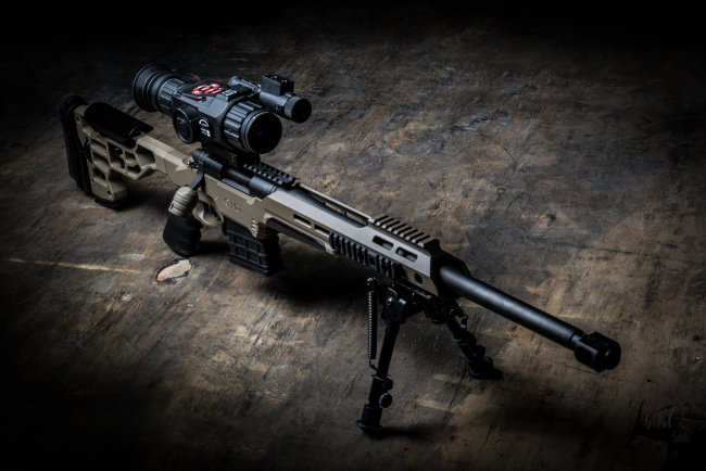 Обои картинки фото оружие, снайперская винтовка, mdt, ess, chassis, system