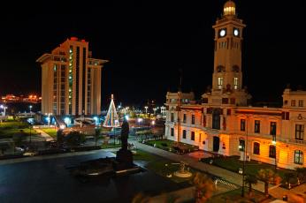 Картинка мексика веракрус города огни ночного