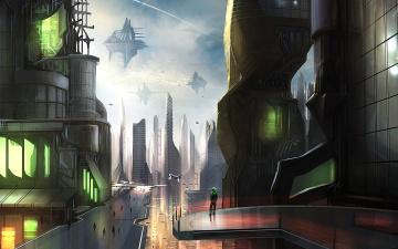Картинка фэнтези иные миры времена будущее