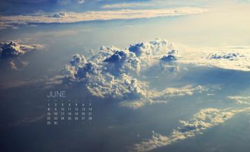 обоя календари, природа, облака
