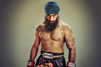 обоя kanwar singh, мужчины, - unsort, мужчина, singh, kanwar, тюрбан, татуировки